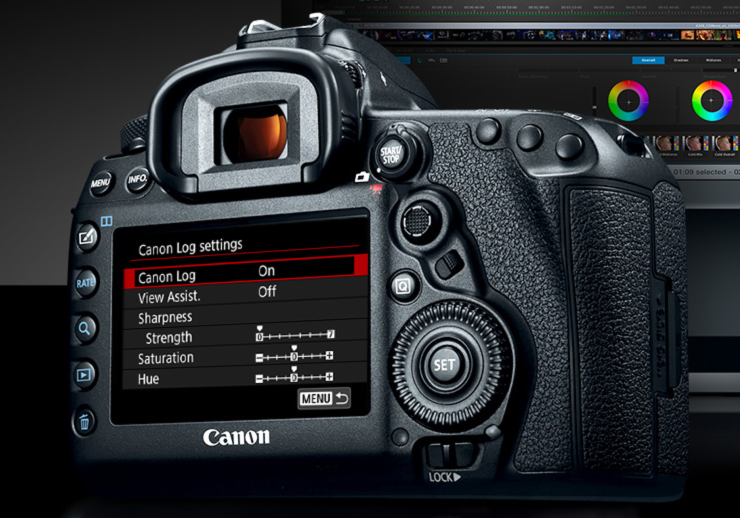 Learn more about Canon's C-Log Firmware details here!