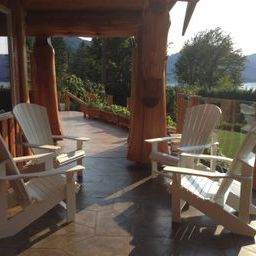 Relax at the harrison hot springs bed and breakfast
