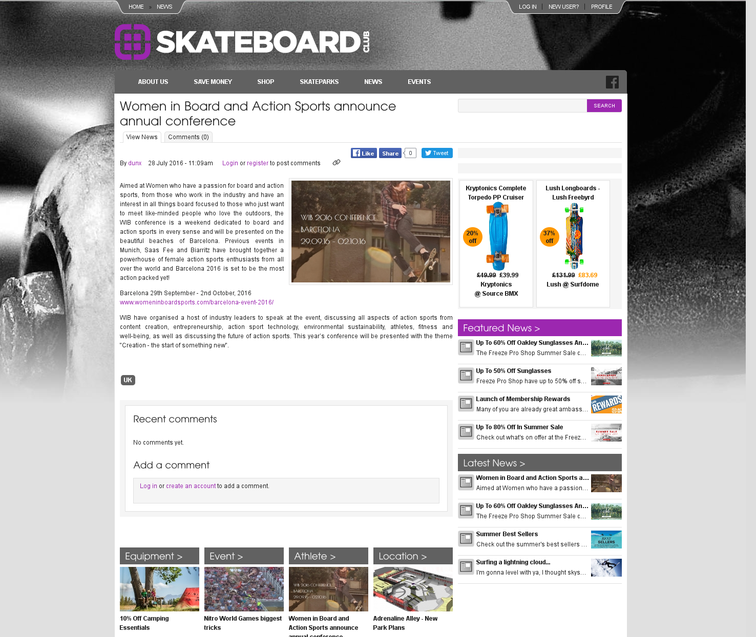 Skateboard club UK