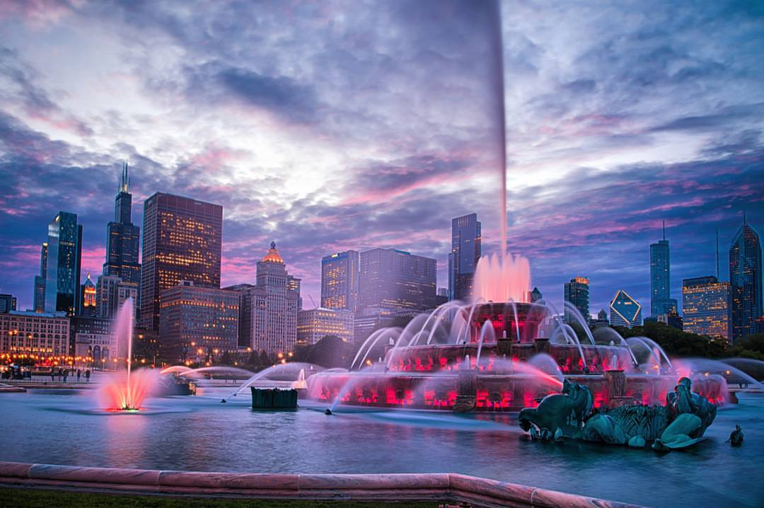 Chicago by Night: Secret Gardens, Live Music, and Fireworks!