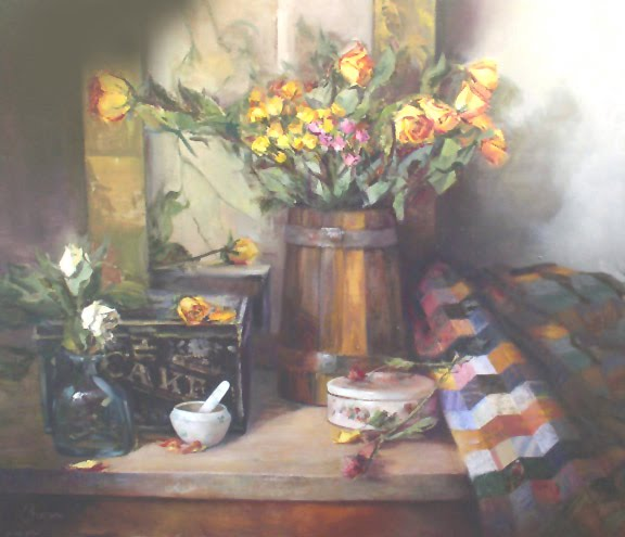 Antiques and Roses -      30 x 36.jpg
