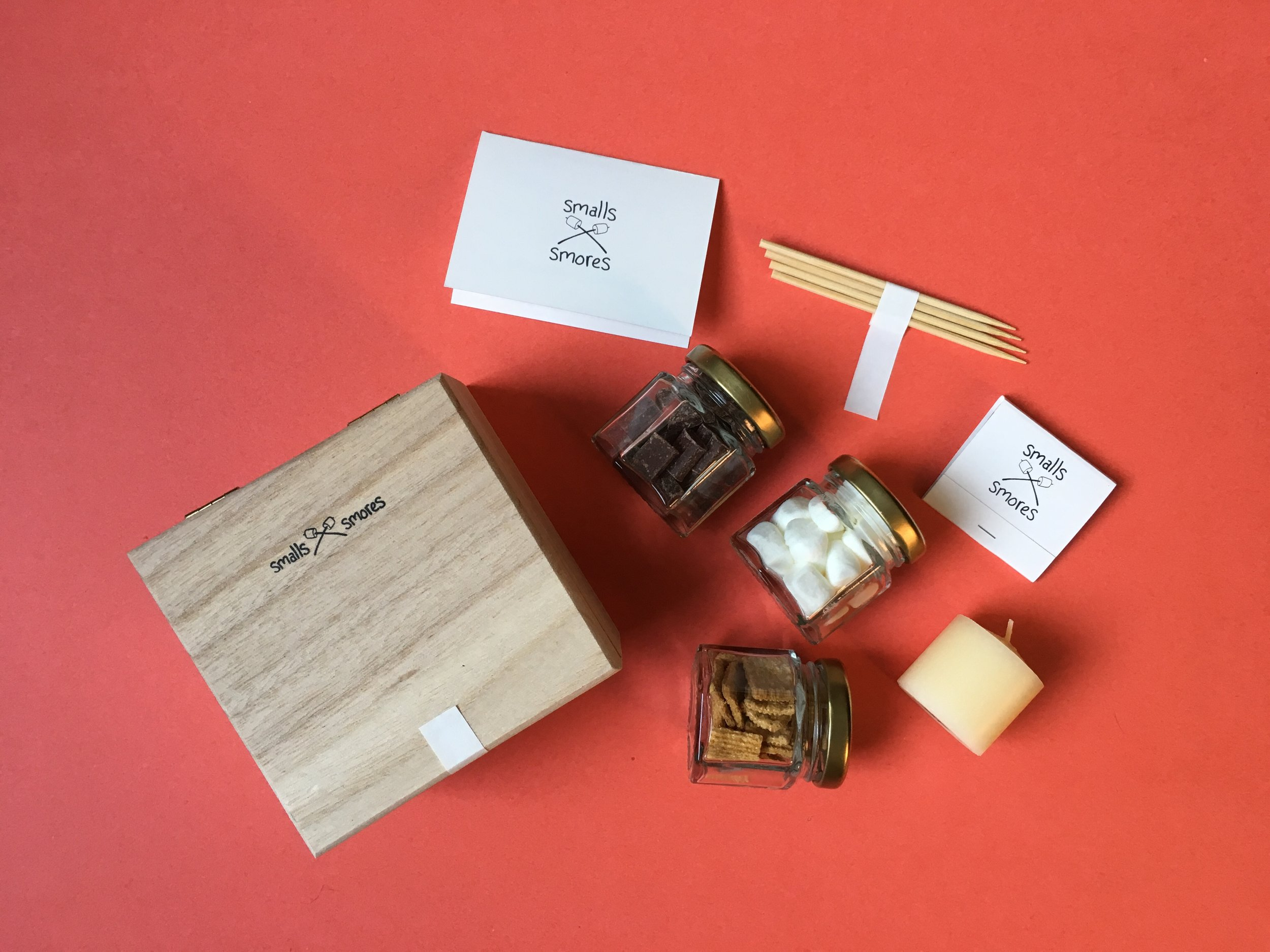 Smalls Smores: The all-in-one tiny s'more experience in one beautiful kit. - - - - - -