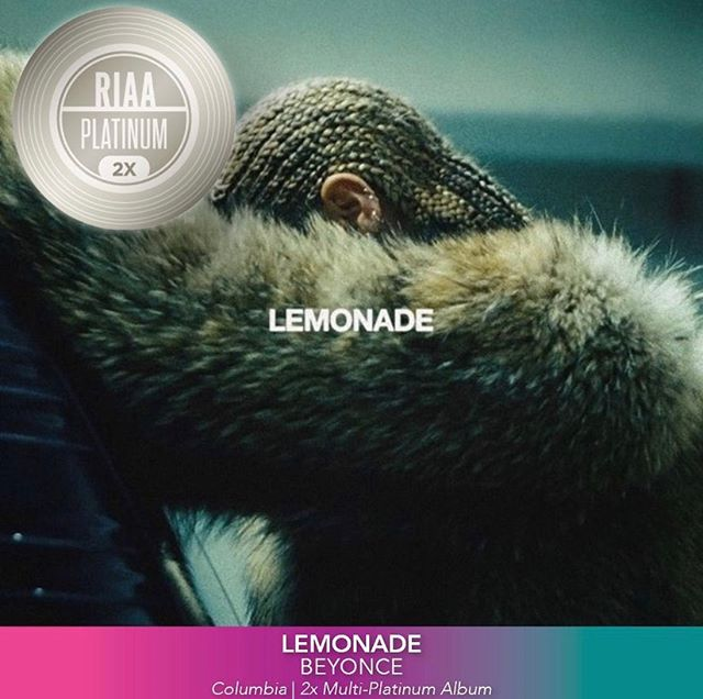 Just found out @beyonce - Lemonade is 3x platinum. Thankful to have been a part of history. s/o @justblaze & @saigon_nyc