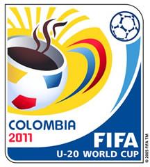 Logo del Mundial Sub-20 realizado en Colombia en el año 2011