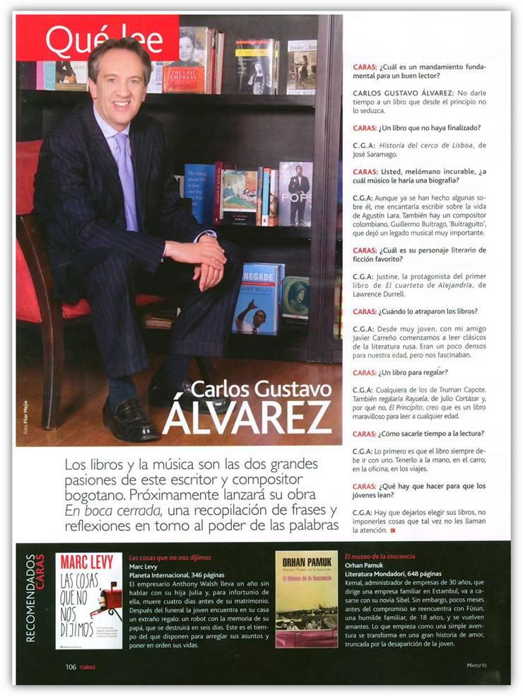 Revista Caras, Mayo de 2010