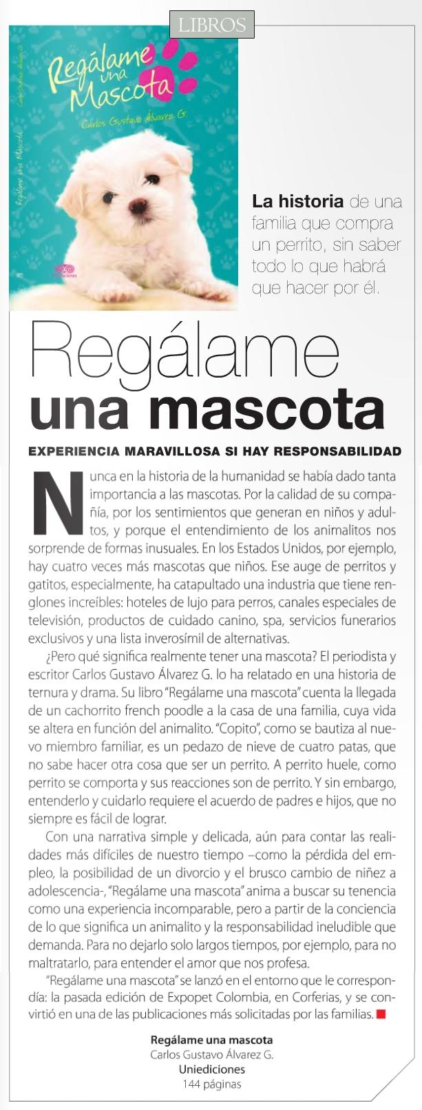 Revista Momentos, Edicion No. 17, Marzo de 2015, Pg. 23