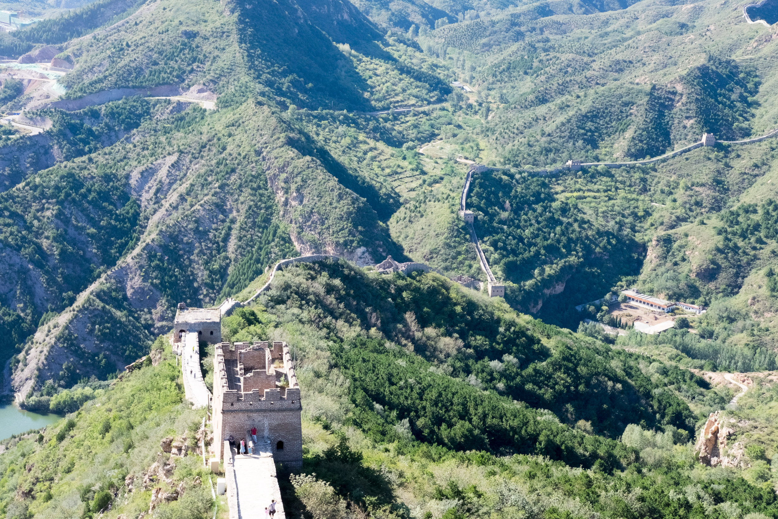 We visited this part of the Great Wall in Northern Beijing thanks to friends' recommendations