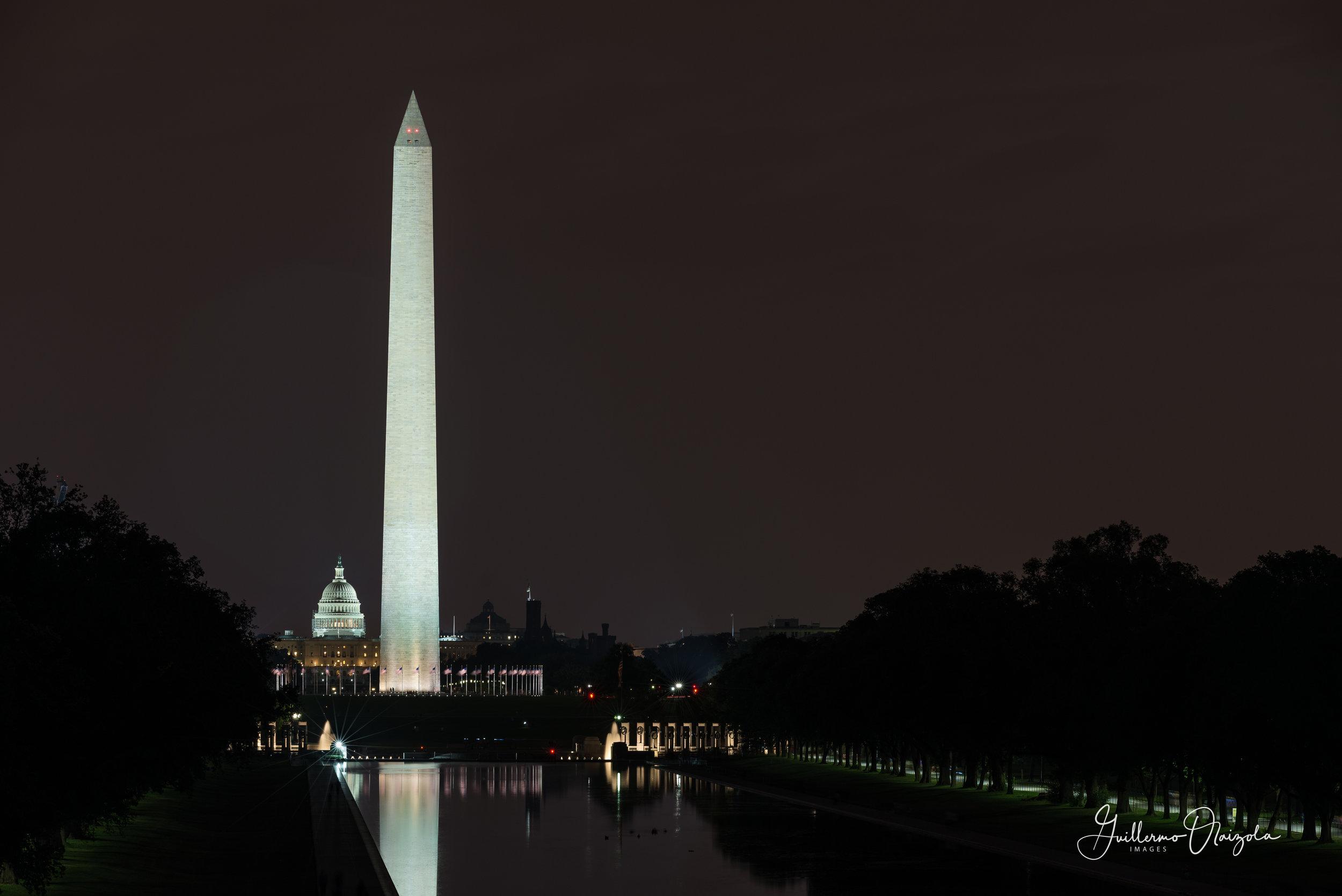 Washington Monument & US Capitol