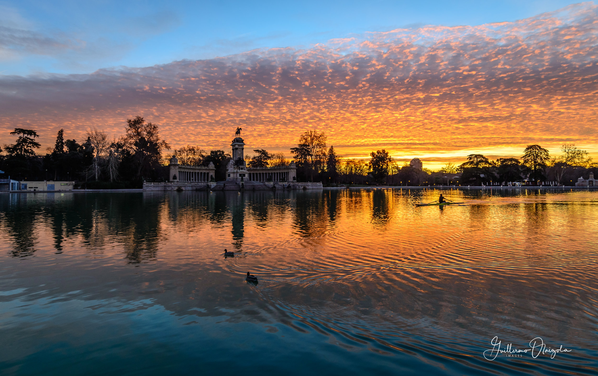 Buen Retiro Park - Madrid - Spain