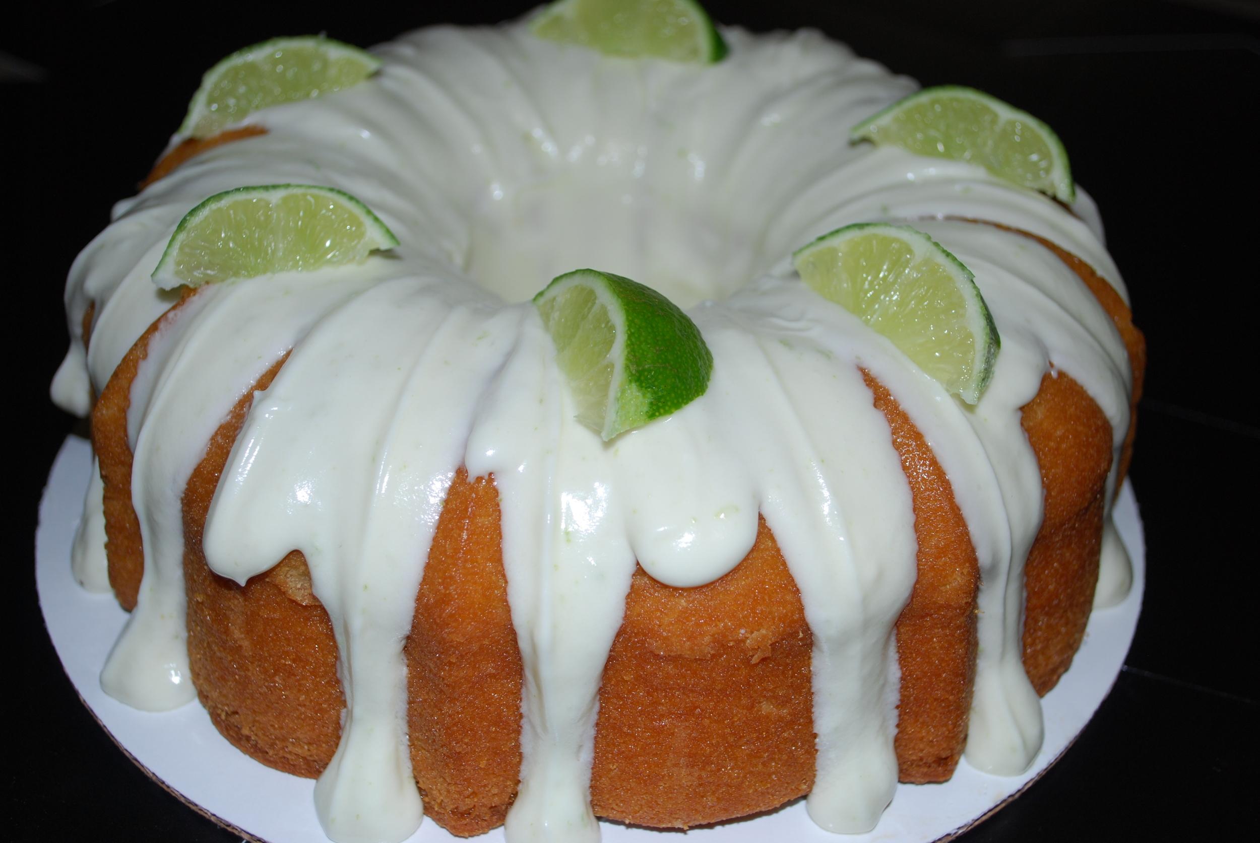 Key Lime Coconut Bundt