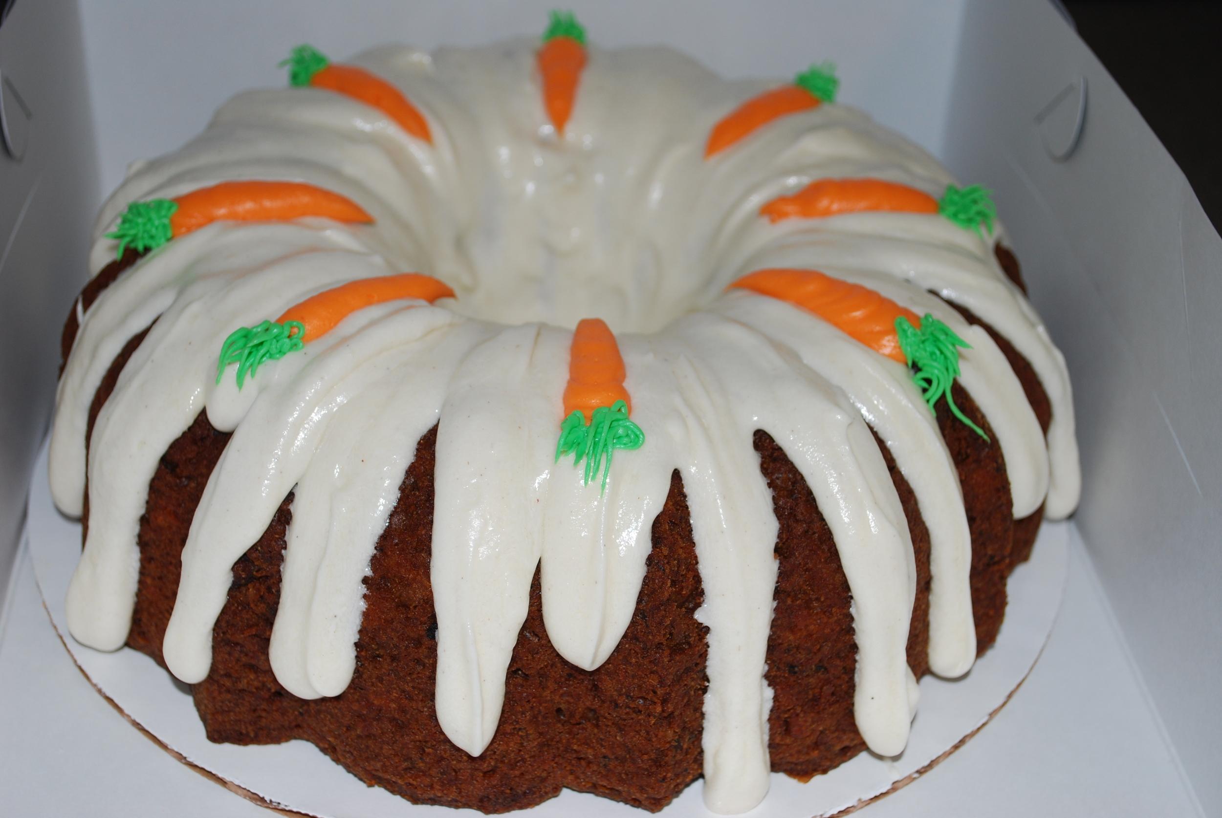 Carrot Bundt