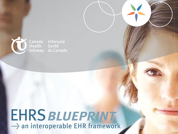 eHealth records for Canadians  Our extensive presentation work with Canada Health Infoway led to a choice opportunity to design their annual  Executive Summary .