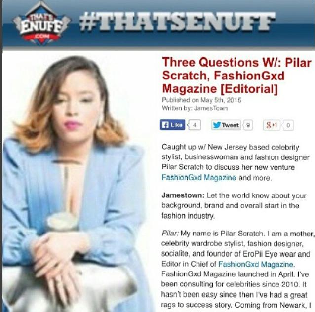 Pilar Scratch on ThatsEnuff.com