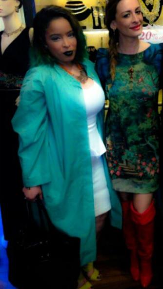 "Celebrity Wardrobe Stylist Pilar Scratchand Arzo of Bravo Blood Sweet in heels attending ""Celebrating Fashion Event """