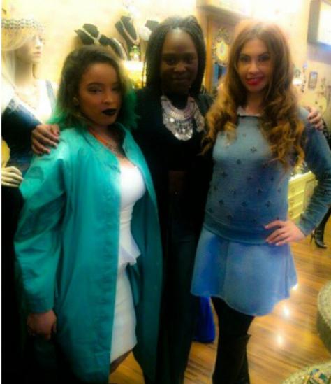 Celebrity Wardrobe Stylist Pilar Scratch , Publicist Ifueko Igbinovia , and Dr. tabasum Mir of Bravo the Single Project