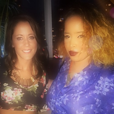Jenelle Evans of MTV Teen Moms and Pilar Scratch attending Rainbow Fashion Week Event by Johnny Donovan Productions