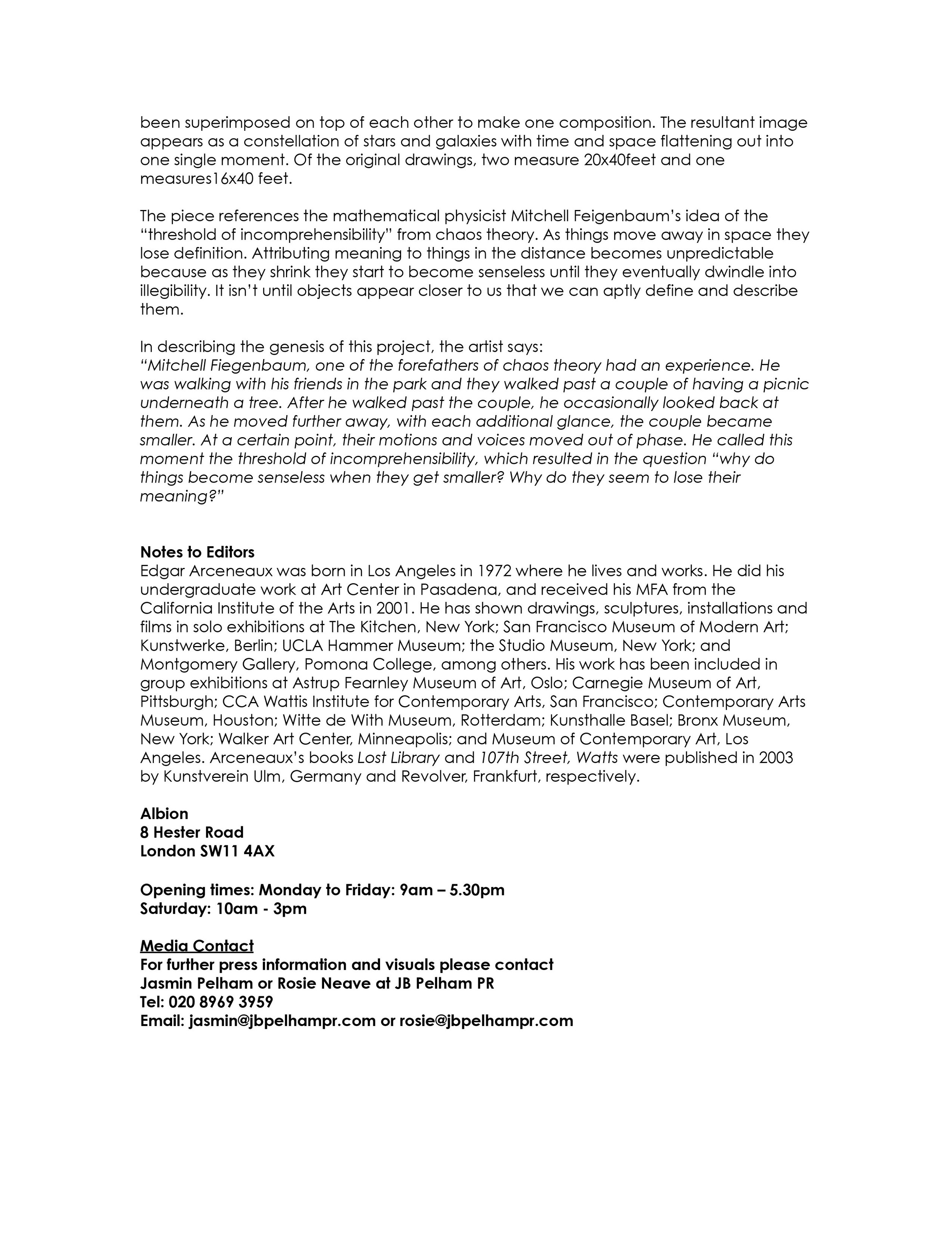 Edgar Arceneaux at Albion 26 January - 28 February, Press Release-2.jpg