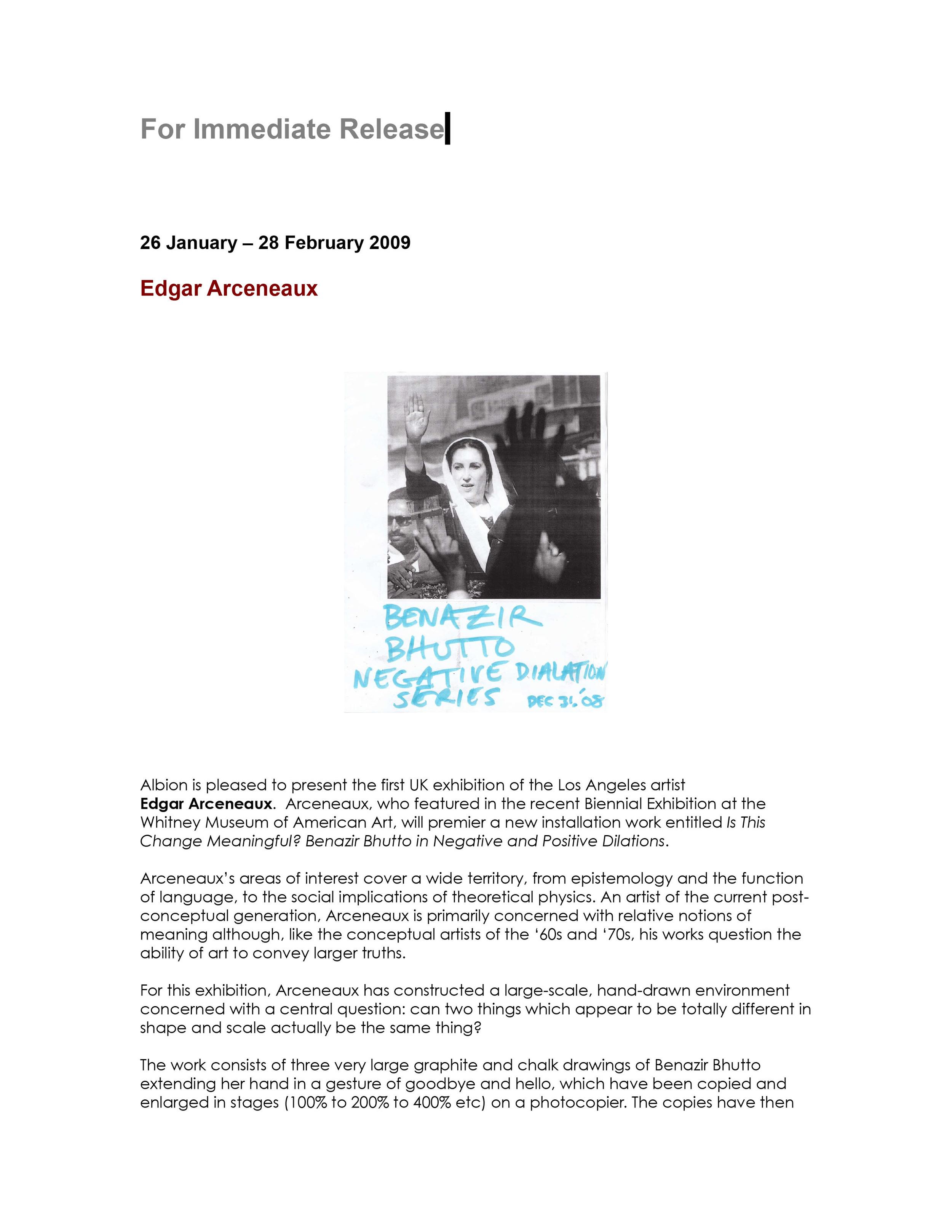 Edgar Arceneaux at Albion 26 January - 28 February, Press Release-1.jpg