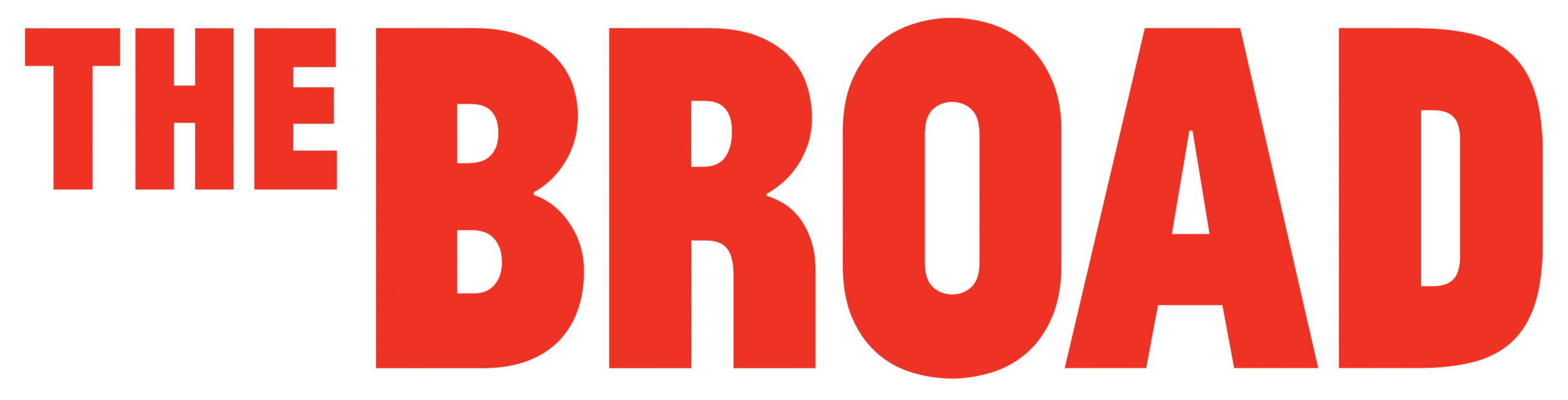 Image result for the broad logo
