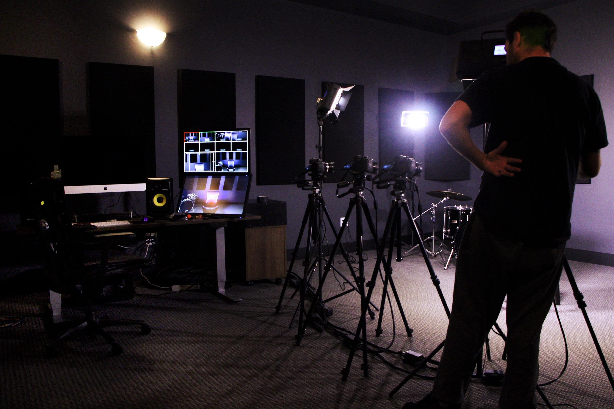 Guitar System - 4K Multi-camera Broadcast Film & Recording Studio Design