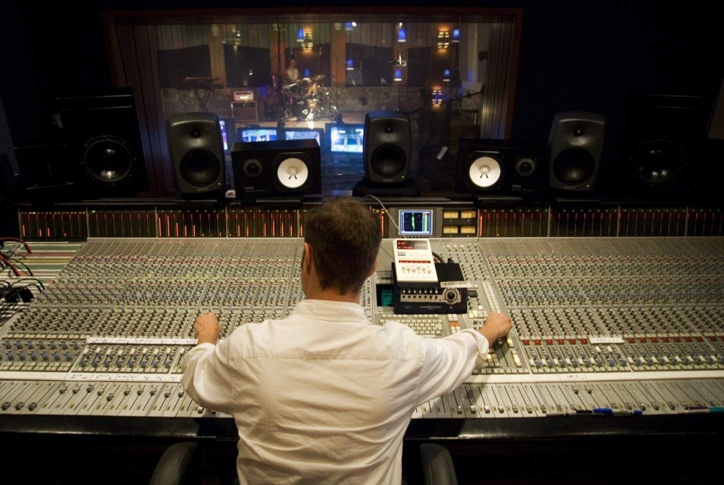 Mixing in 5.1 Surround at Rock Beach Studios