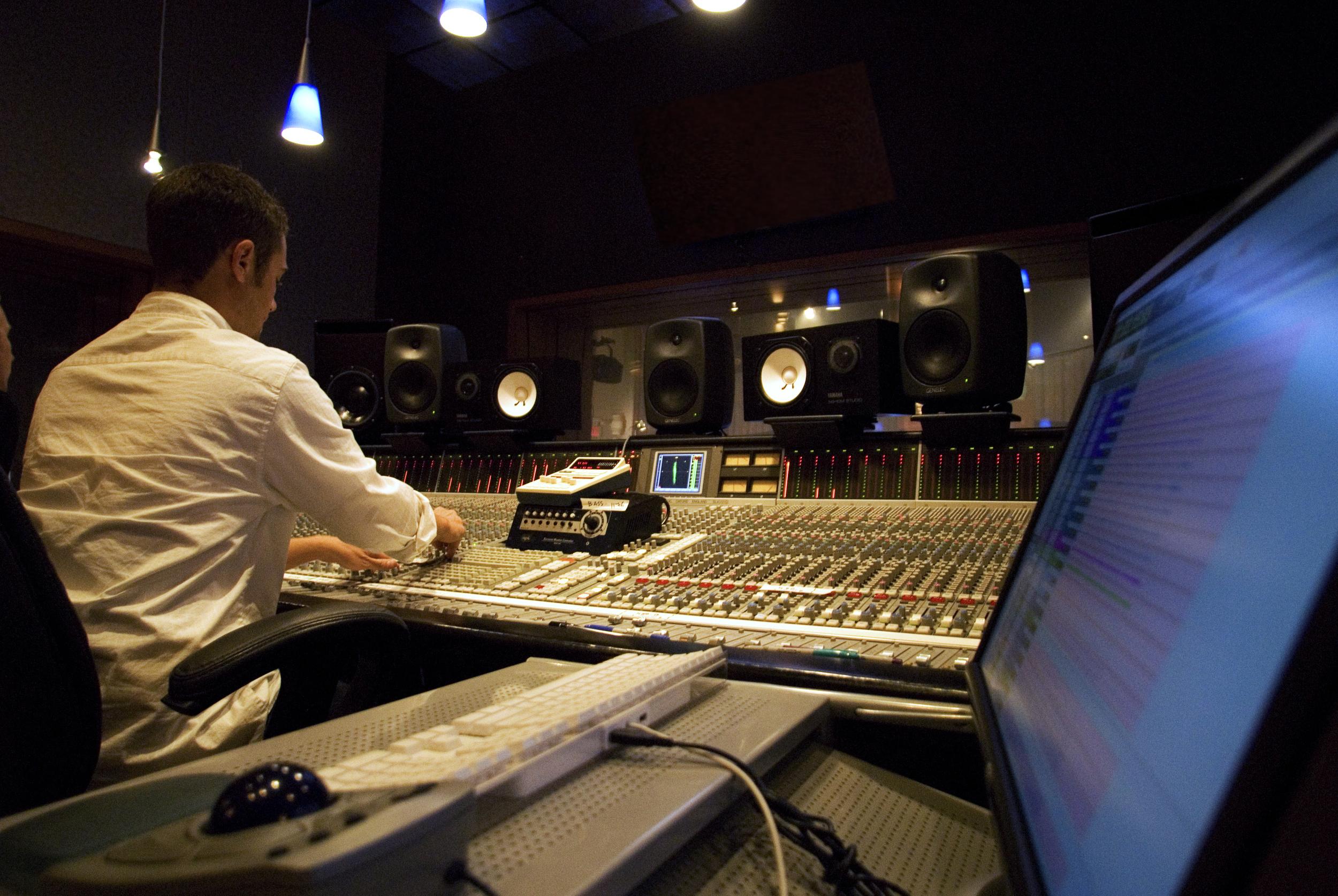 Producing Music at Rock Beach
