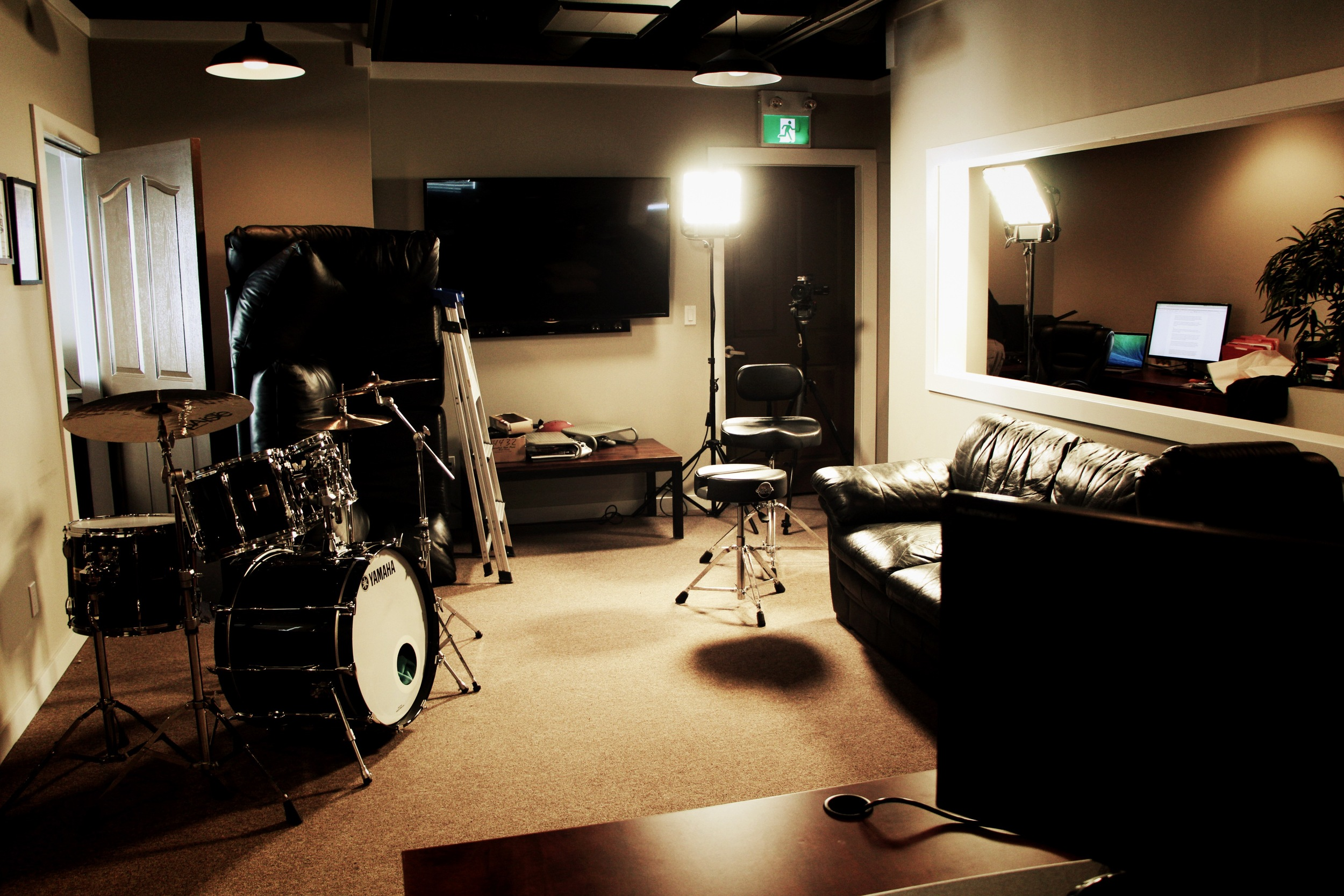 Directing a Trailer Shoot in the Drumeo Offices