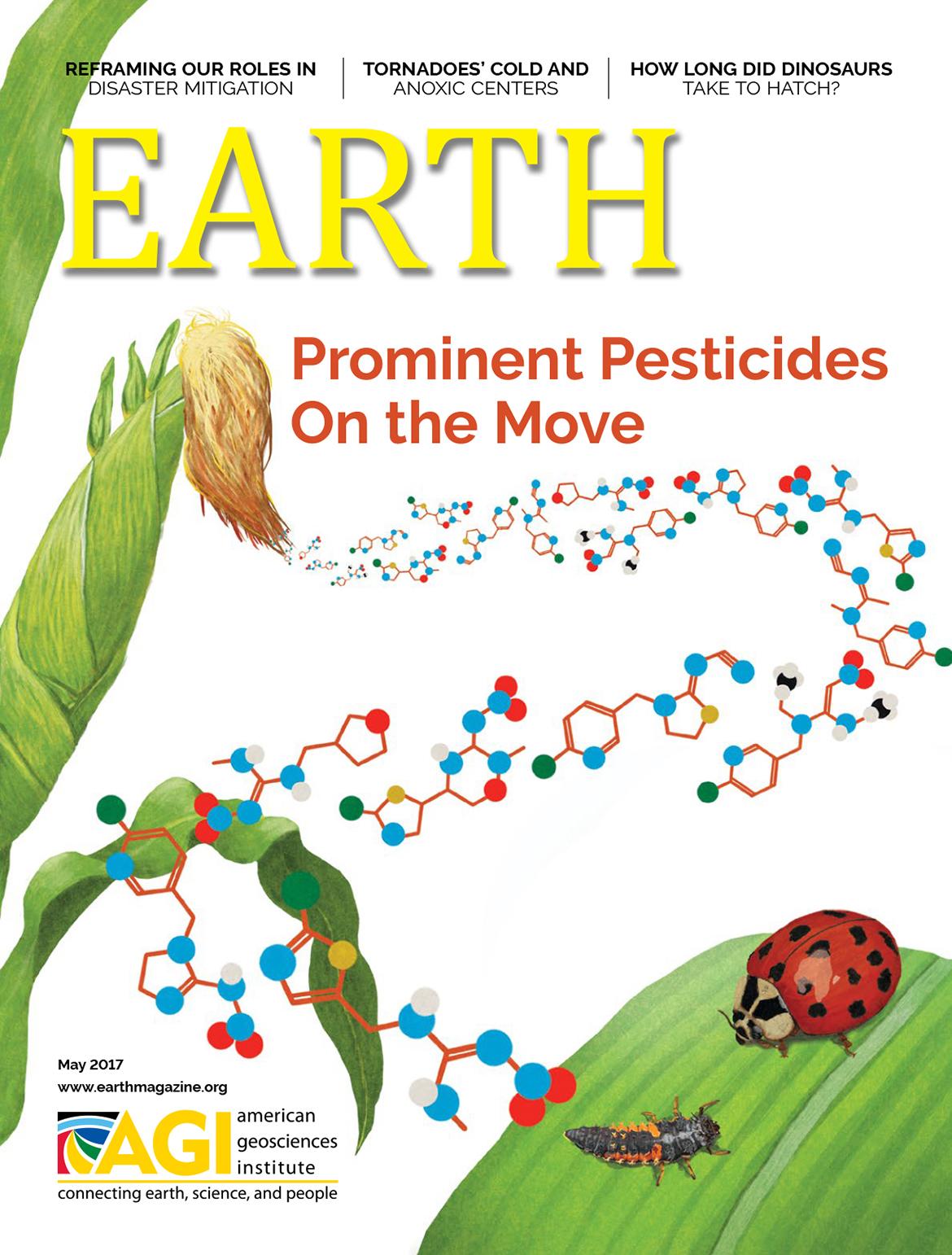 May 2017  EARTH Magazine,layout by Nicole Schmidgall  www.nicoleschmidgall.com