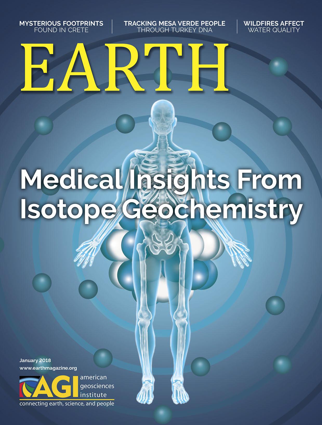 January 2018  EARTH Magazine,layout by Nicole Schmidgall  www.nicoleschmidgall.com