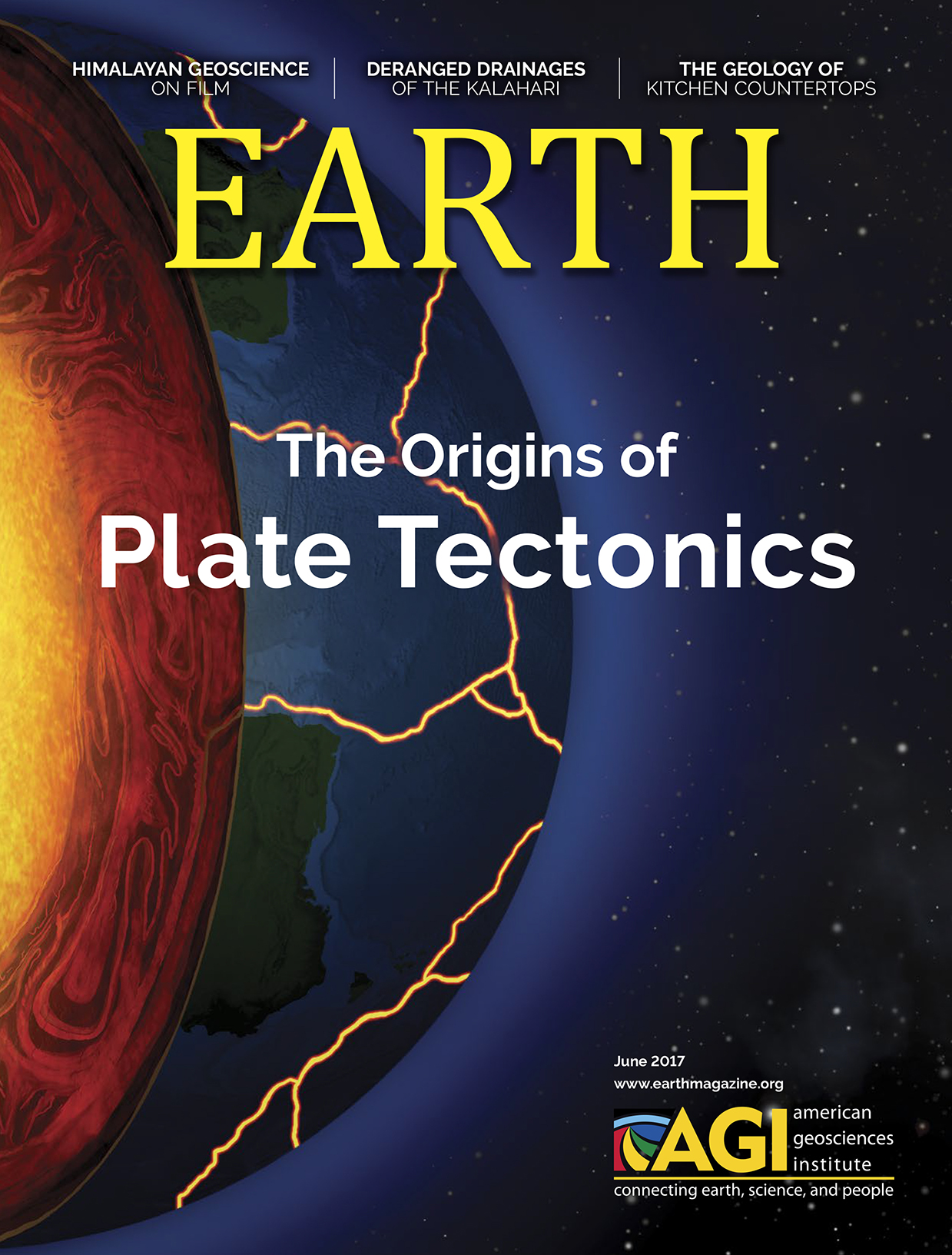 June 2017  EARTH Magazine,layout by Nicole Schmidgall  www.nicoleschmidgall.com