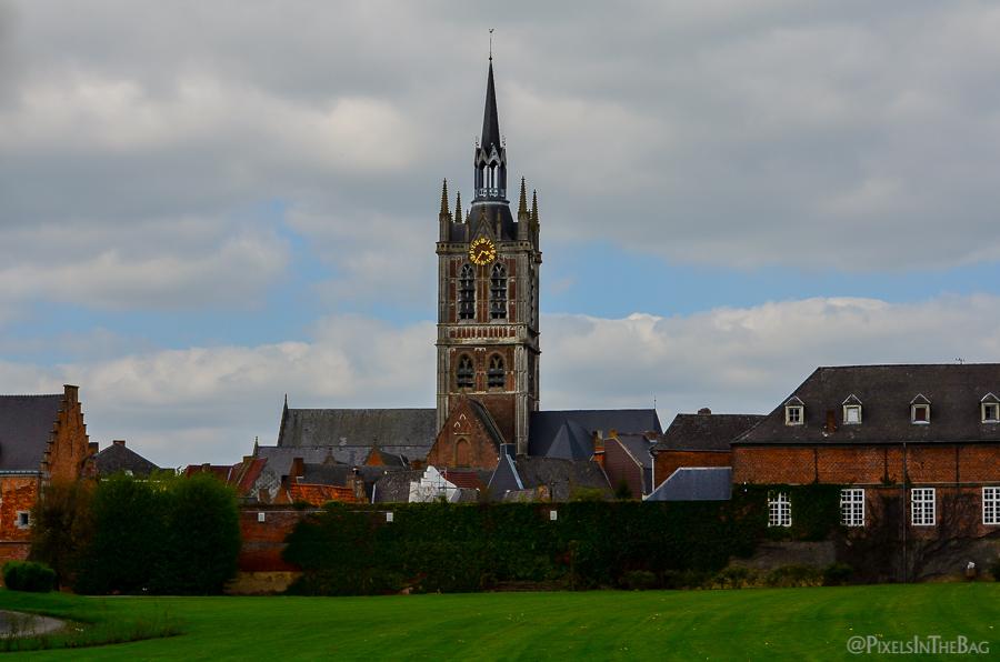 St Nicolas' church in Enghien