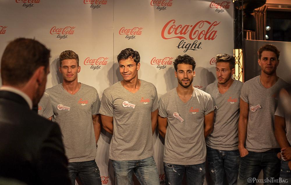 Coca-Cola Light Man candidats.
