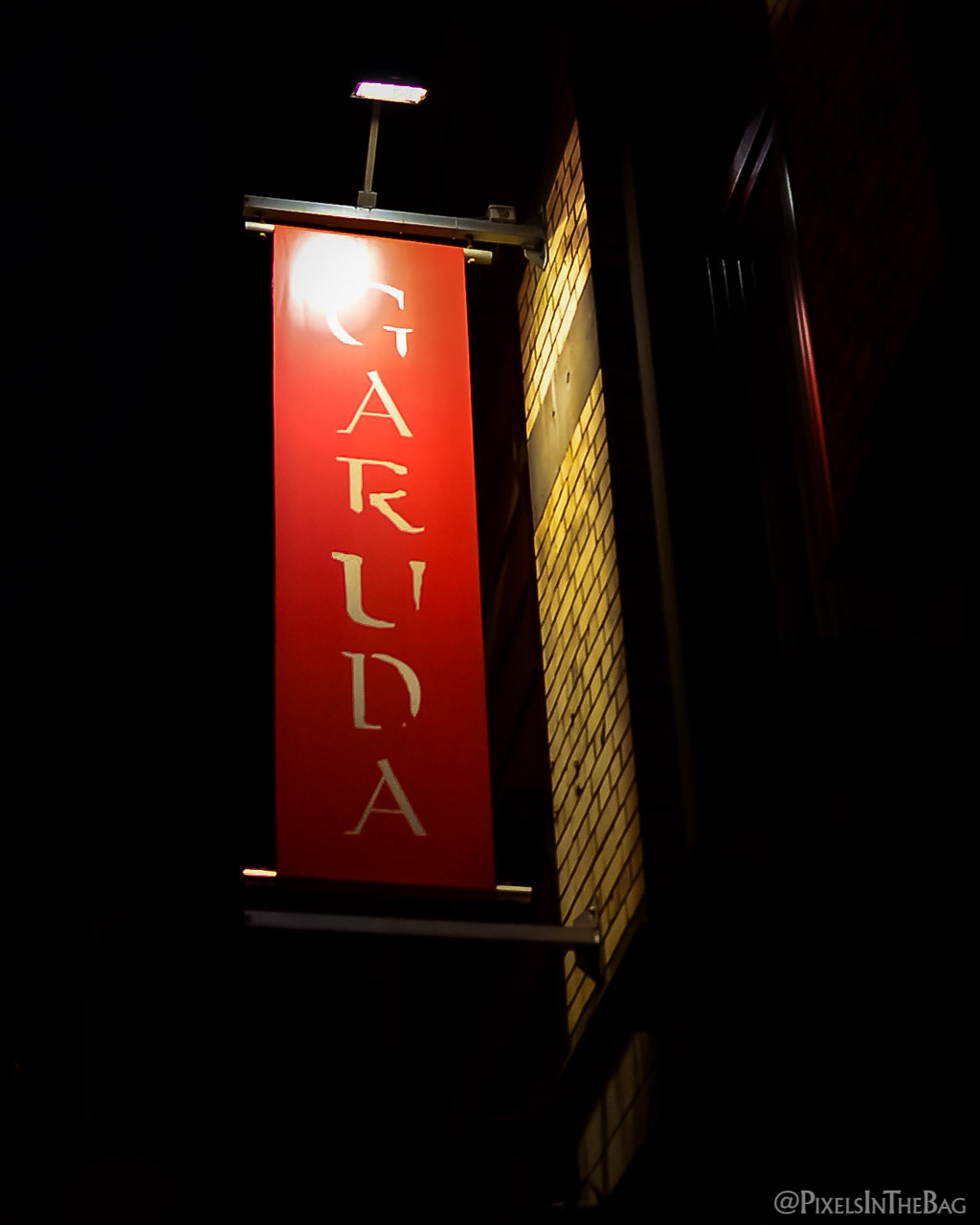 A l'entrée de Garuda.