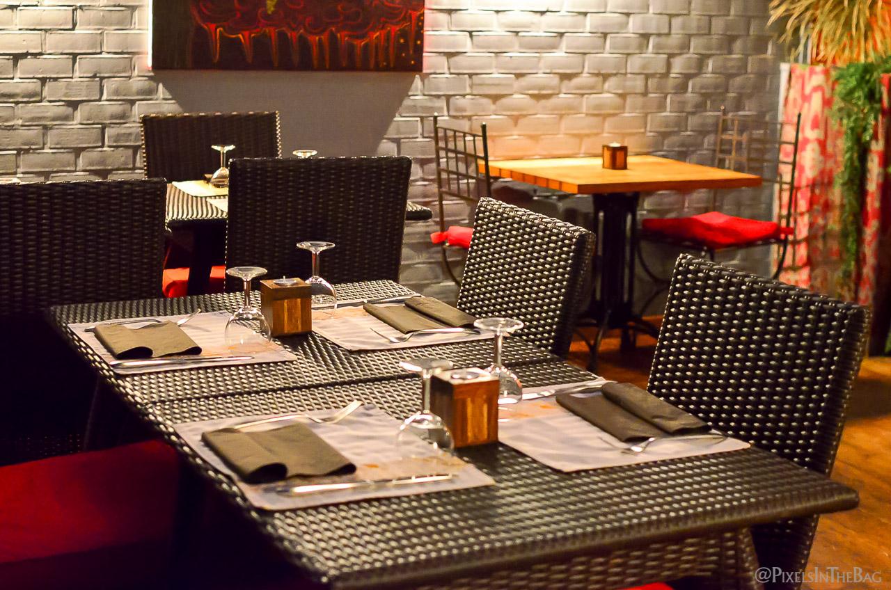 Décoration au restaurant Garuda de Bruxelles - 03.