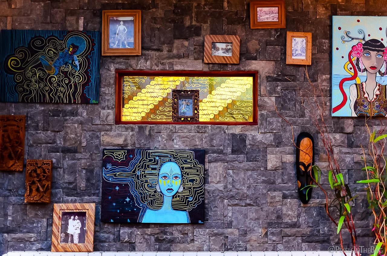 Décoration au restaurant Garuda de Bruxelles - 01.