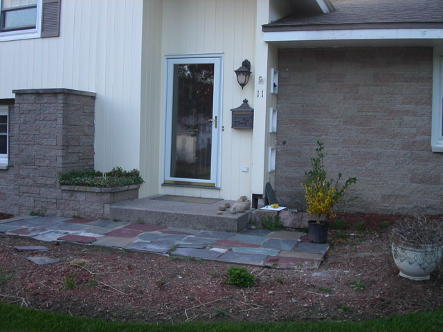 Entrances and Steps Landscaping in MA — Natural Path Landscaping