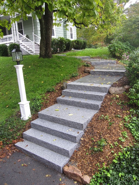 Entrances And Steps Landscaping In Ma Natural Path Landscaping