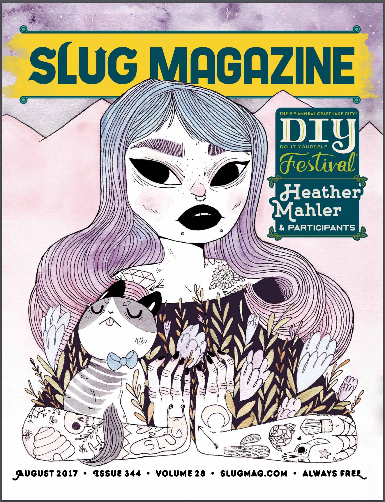 Cover of SLUG Magazine