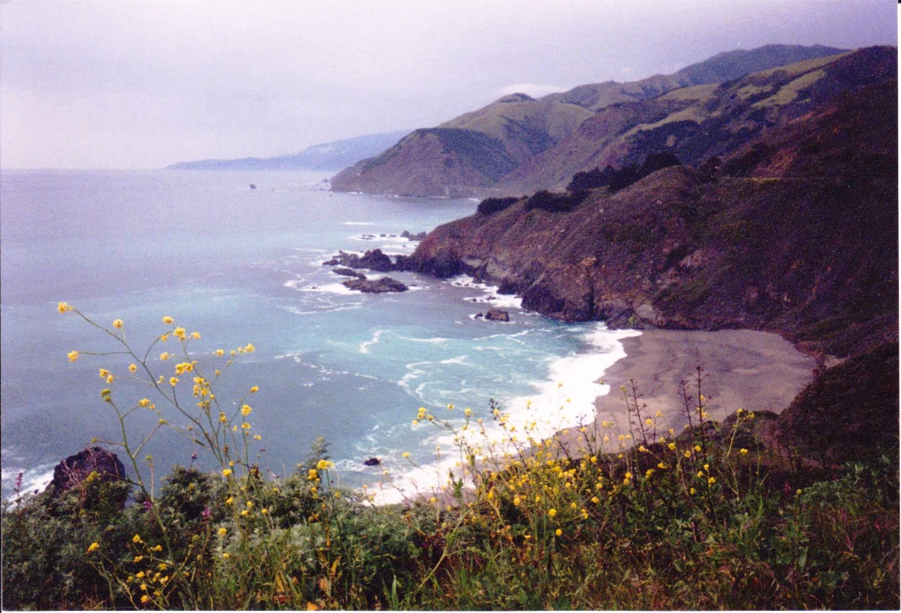 Beach and cliffs Spring break road trip.jpg