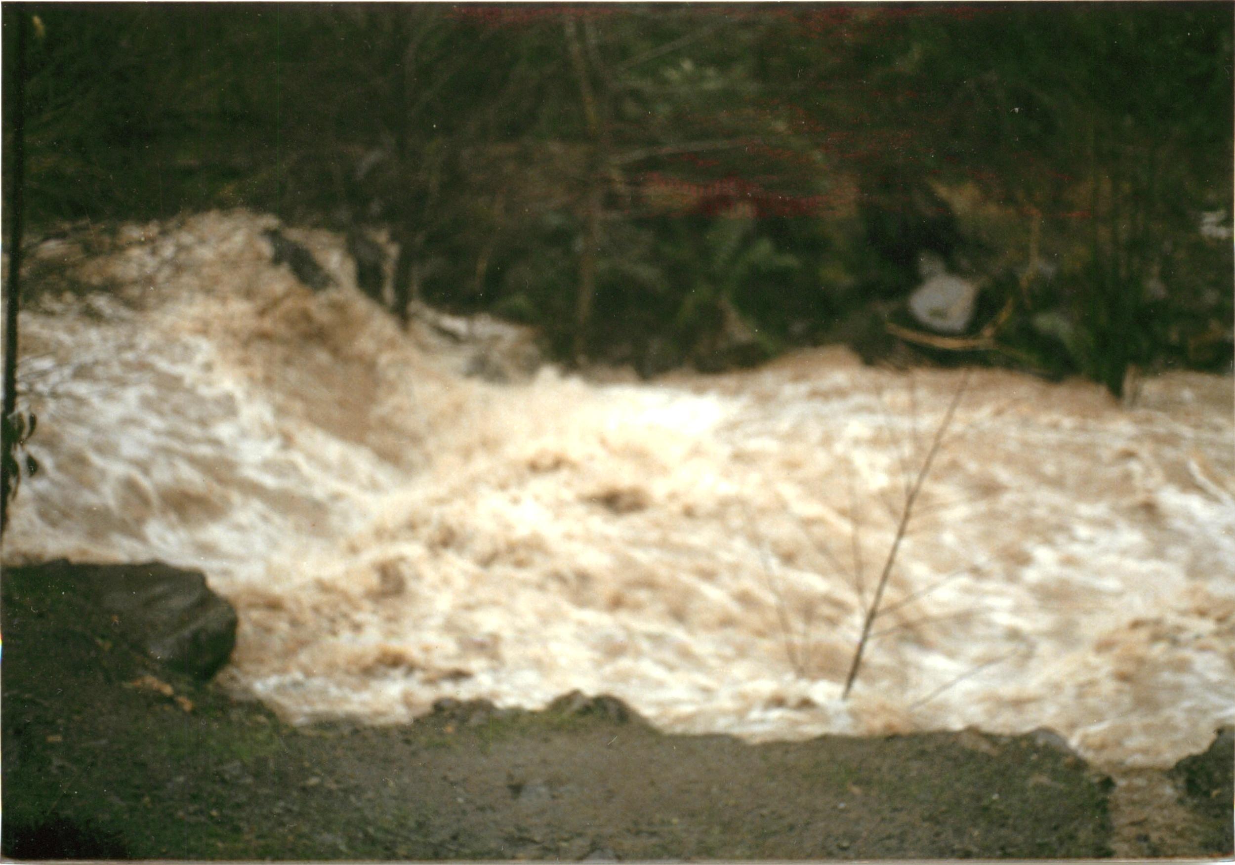 Wintertime creek. Same spot.