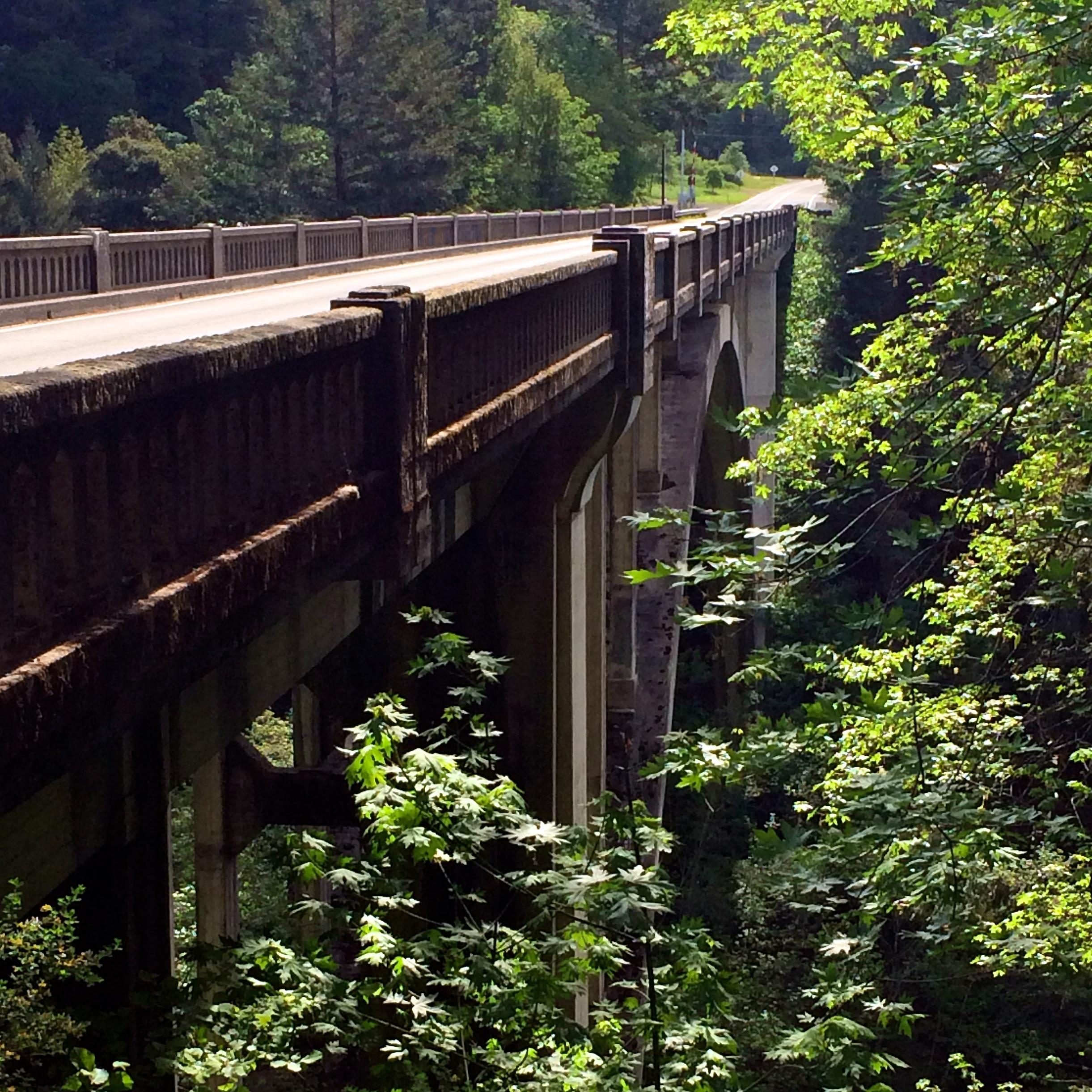 The southern bridge.