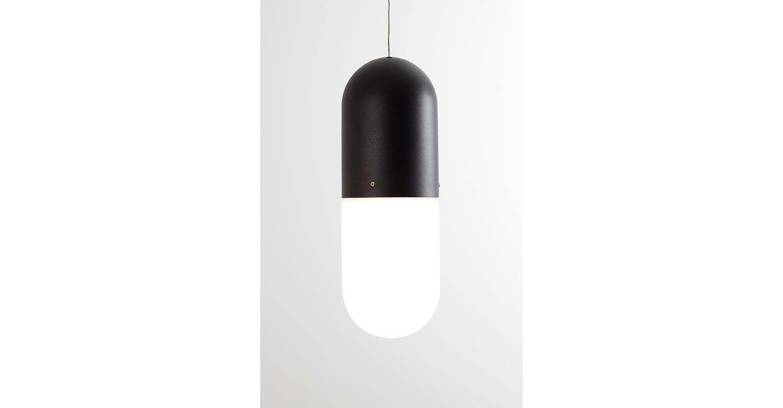 Pil Pendant black Aluminium - Designer Designtree.jpg