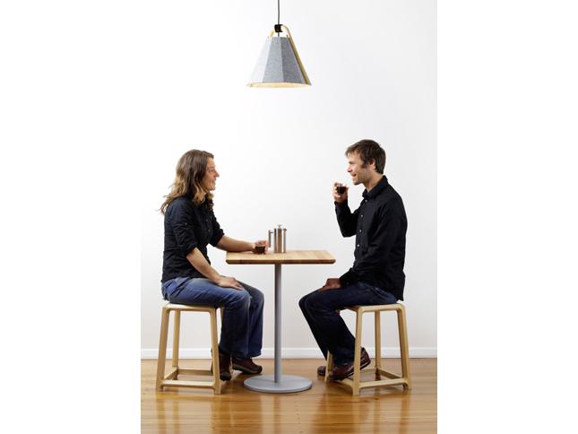 Frankie pendant & Chamfer stool short insitu 03 - Designer Designtree.jpg