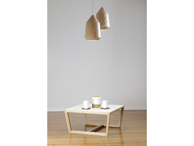 Chamfer Coffee Table and Acorn Pendant 05 - Designer Designtree.jpg
