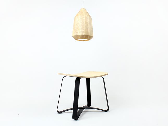 Acorn pendant and Zax stool - Designer Tim Wigmore for Backhouse.jpg