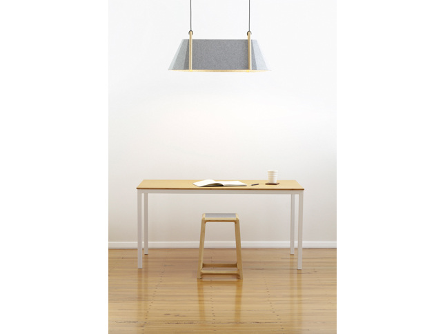 Frankie double pendant & Chamfer stool insitu 01 - Designer Designtree.jpg