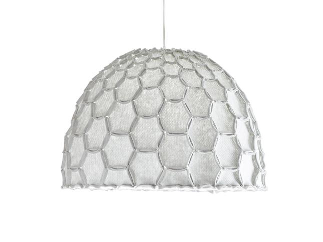 Nectar large half lampshade light grey whiteBG - Designer Designtree.jpg