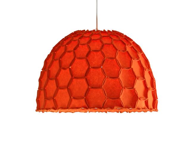Nectar large half lampshade orange whiteBG - Designer Designtree.jpg