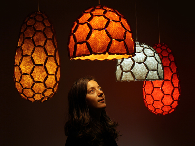 Nectar lampshade group inc portrait - Designer Rebecca Asquith.jpg