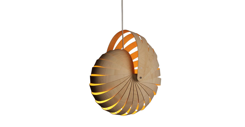 Nautilus lampshade med natural white background - Designer Designtree.jpg